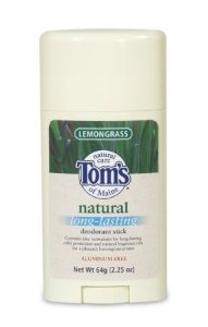 – Lemongrass Long Lasting Stick, 2.25 oz sticks ( Value Bulk Multi-pack) by Tom's of Maine