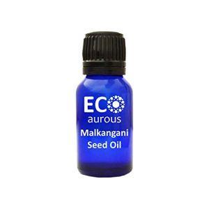 Malkangani Seed (Celastrus Paniculatus) Oil 100% Natural, Organic & Vegan Malkangani Seed Essential Oil By Eco Aurous (20.L)