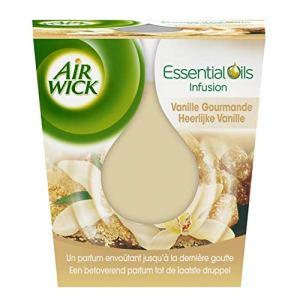 Air Wick Désodorisant Bougie Essential Huile Vanille