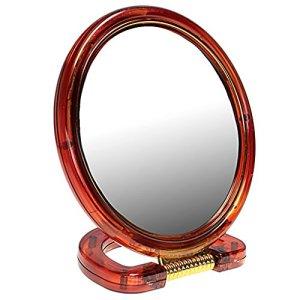 Choses de femme miroir de salle de bain et table avec double grossissant–Boîtes de 6x 20g