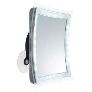Miroir Led Vienna Grossissant X 5 Diamètre 22 Cm Avec Minuterie