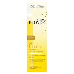 John Frieda Sheer Blonde Spray Go Blonder Eclaircissant Ciblé pour Cheveux Blonds 100 ml