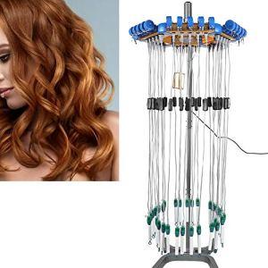 Machine en céramique de commande numérique en céramique de cheveux, dispositif stylant de support de contrôle de température intelligent 24V avec Perm Rod, machine saine de Perm en coiffure(EU Plug)
