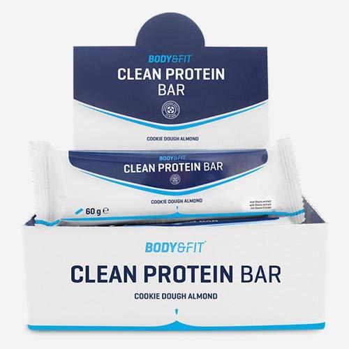 Barres protéinées «Clean Protein» – Boite de 12 – Gout: Cookie Dough Almond