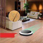 Bonne qualité Aspirateur robotique à Chargement Automatique Aspirateur Automatique 1000Pa Protection Forte Anti-Chute et Anti-Collision