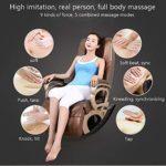 SISHUINIANHUA Chaise de Massage, Maison Multi-Fonction Canapé Chaise Vertebra Santé cervicale Massager, Convient pour Les Jambes, Cou, tête, Dos à Bascule Fonction de Chauffage