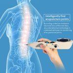 Stylo acupuncture electronique points intelligents d'acuponcture de recherche pour le soulagement de la douleur pour le dos, le pied, le cou, l'épaule, la libération de douleur de jambe