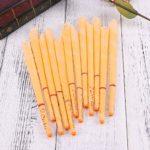 Faneli Lot de 12 bougies d'oreilles en cire d'abeille avec filtre de sécurité pour le nettoyage, les bougies d'oreilles avec filtre de cire d'abeille