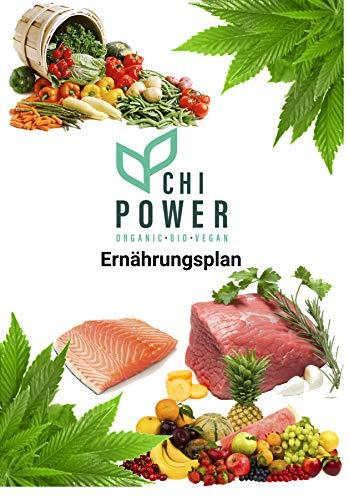 Plan alimentaire ChiPower Vegan et non végétalien, disponible en PDF. Pour votre régime rapide.