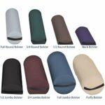EARTHLITE Jumbo traversin – durable, dans divers coloris, avec poignée / qualité professionnelle / soulage le mal de dos