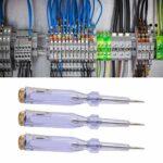 GAESHOW Stylo électrique, 3 pièces Stylo électrique Test de Tension Crayon sensibilité Outils de détection an‑G43 AC 100‑250 V
