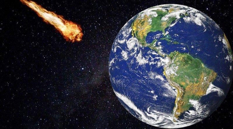 Cosa succede quando un meteorite cade sulla terra