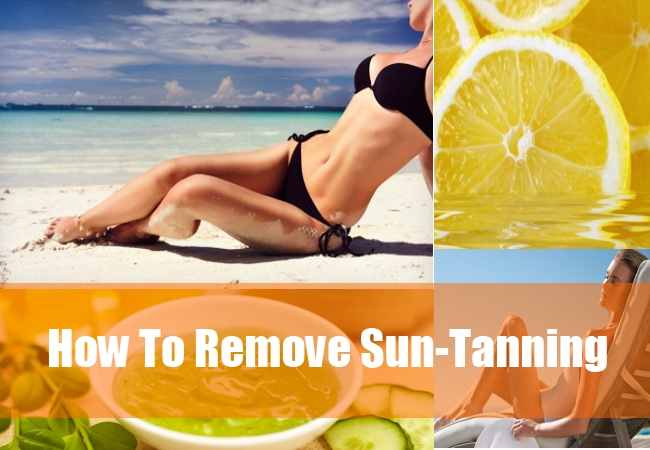 How To Remove Sun-Tanning
