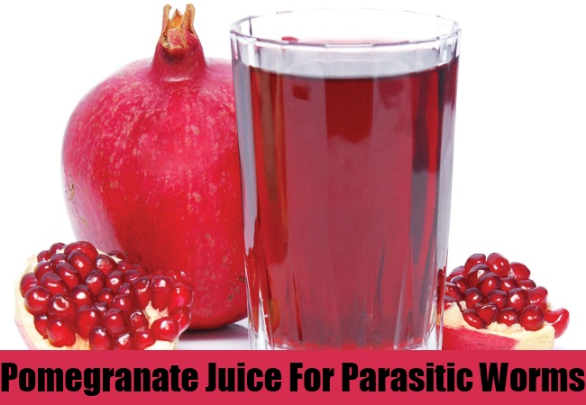 Pomegranate Juice For Parasitic Worms