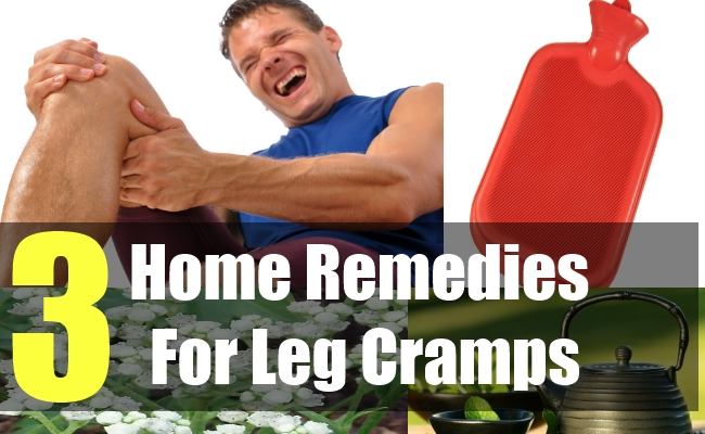 3 Home Remedies For Leg Cramps