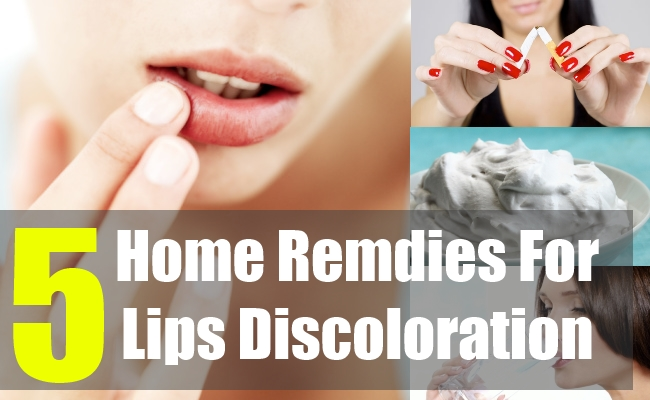 5 Home Remdies For Lips Discoloration