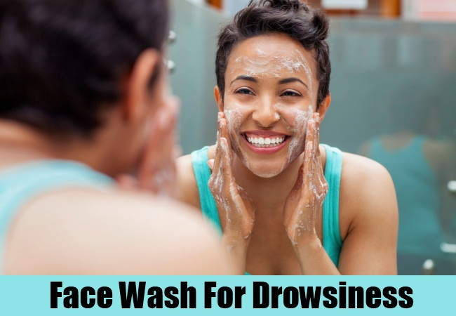 Face Wash For Drowsiness