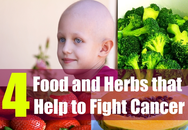 4 Food and Herbs that Help to Fight Cancer