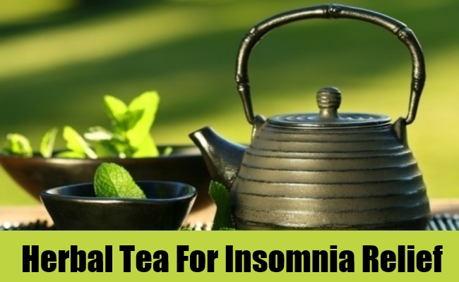 Herbal Tea For Insomnia Relief