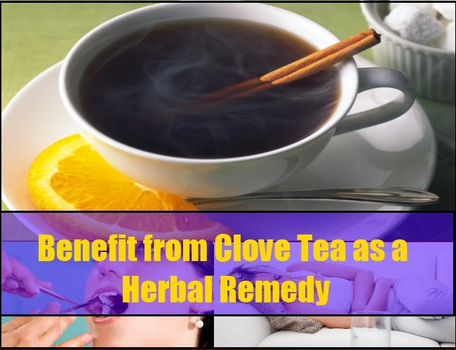 Benefit from Clove Tea as a Herbal Home Remedy