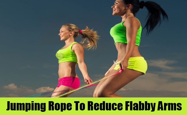 Jumping Rope To Reduce Flabby Arms