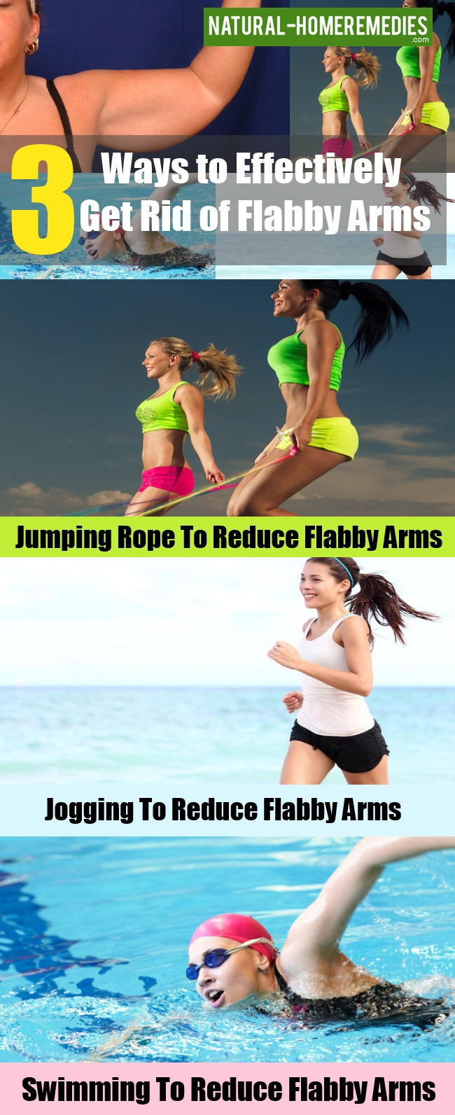 Ways to Effectively Get Rid of Flabby Arms
