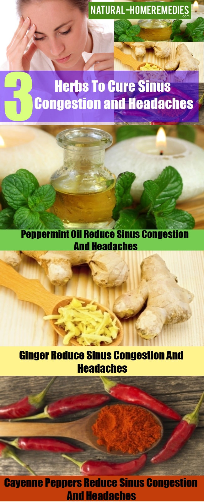 Herbs To Cure Sinus Congestion and Headaches
