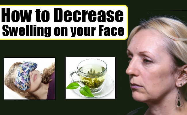 How to Decrease Swelling on your Face