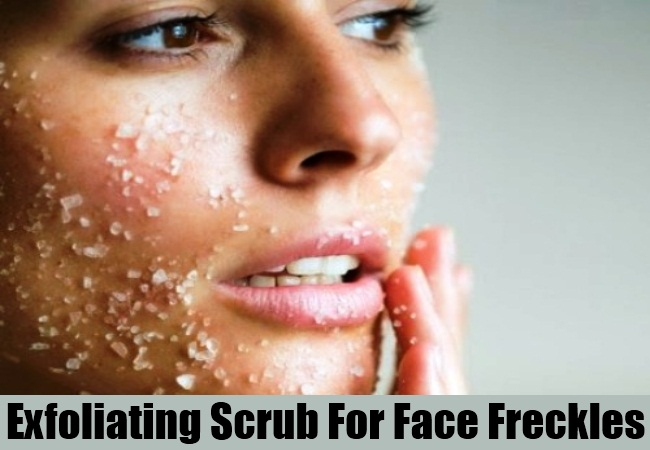 Exfoliating Scrub For Face Freckles