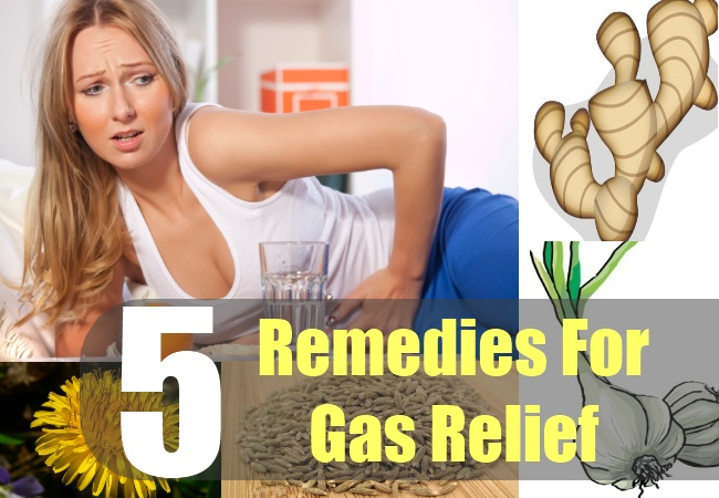 5 Remedies for Gas Relief