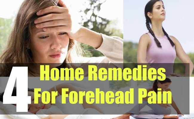 4 Home Remedies For Forehead Pain