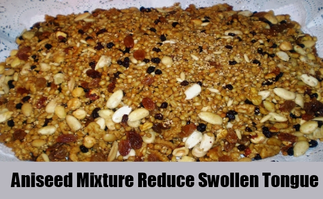 Aniseed Mixture Reduce Swollen Tongue