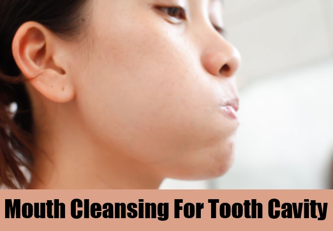 Mouth Cleansing For Tooth Cavity