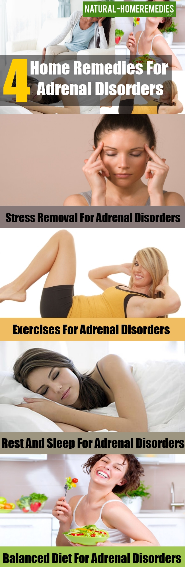 Home Remedies for Adrenal Disorders