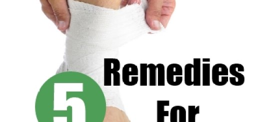 How To Cure Ankle Sprain Naturally
