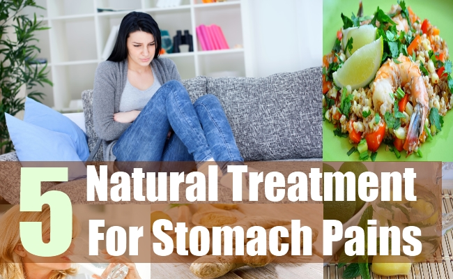 5 Natural Treatment For Stomach Pains