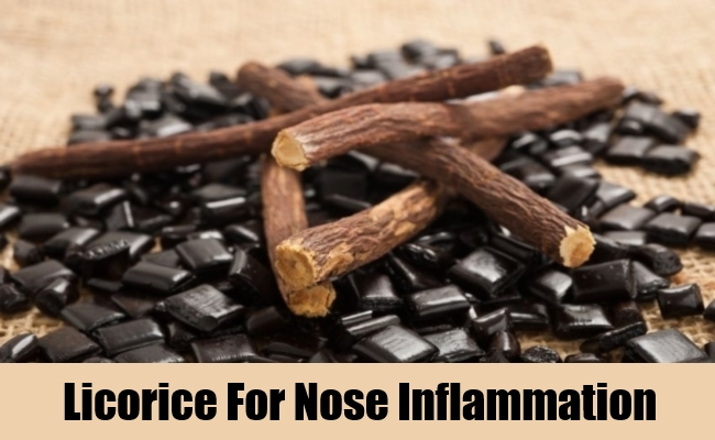 Licorice For Nose Inflammation