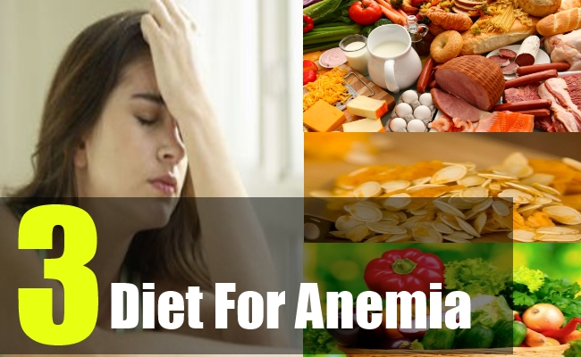 3 Diet For Anemia