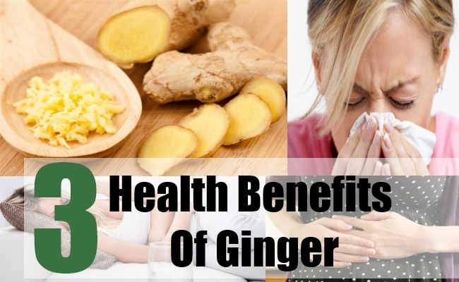 3 Health Benefits Of Ginger