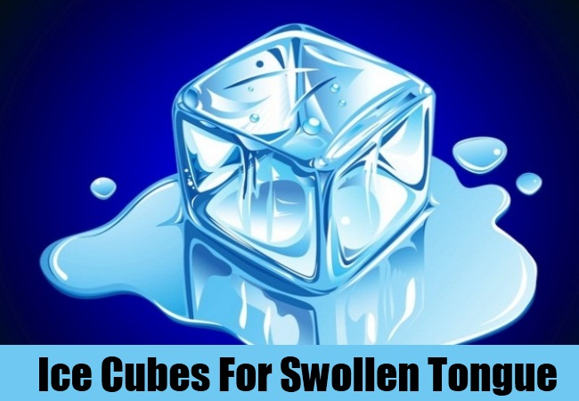 Ice Cubes For Swollen Tongue