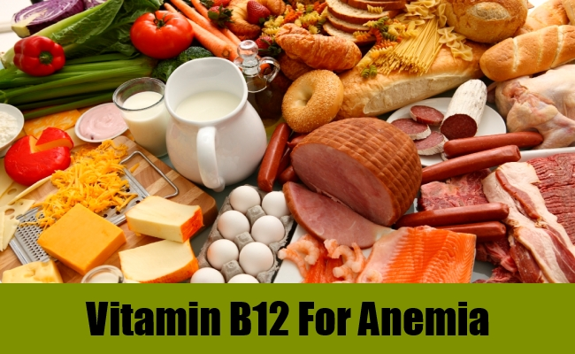 Vitamin B12 For Anemia