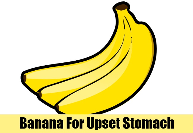 Banana For Upset Stomach