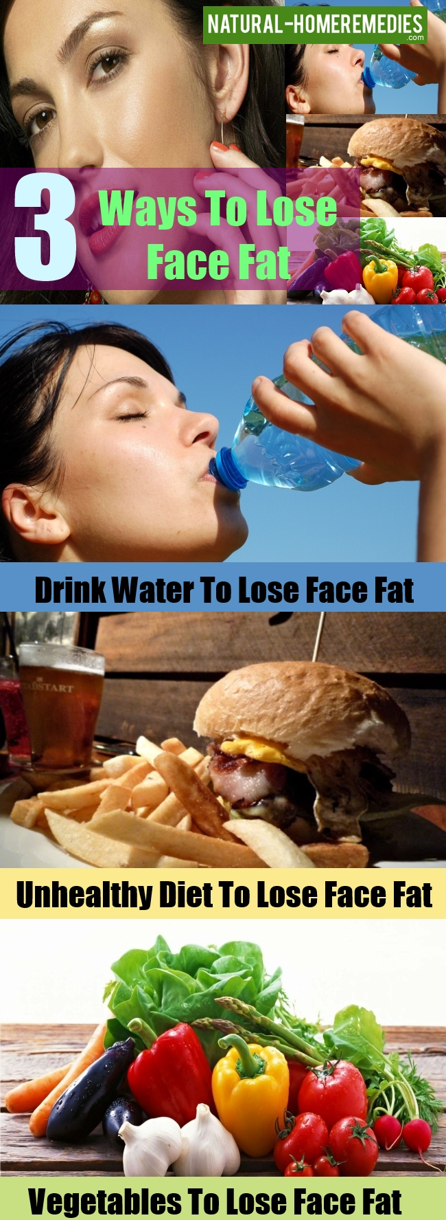 Ways To Lose Face Fat