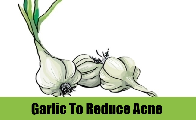 Garlic To Reduce Acne