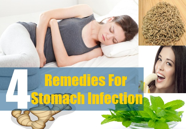 4 Remedies For Stomach Infection