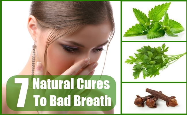 Natural Cures To Bad Breath