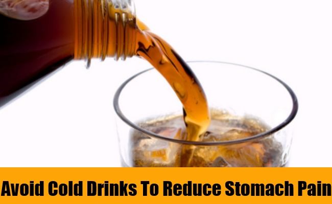 Avoid Cold Drinks To Reduce Stomach Pain