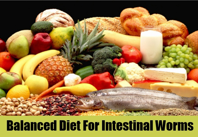 Balanced Diet For Intestinal Worms