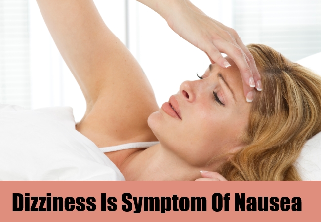Dizziness Is Symptom Of Nausea
