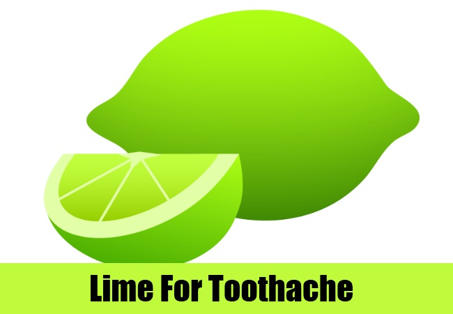 Lime For Toothache